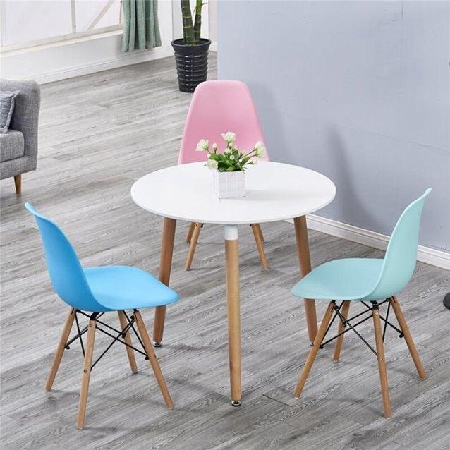 洽談桌洽談桌椅組合簡約個性創意小圓桌咖啡2人餐桌家用宜家經濟型桌子  秋冬新品特惠