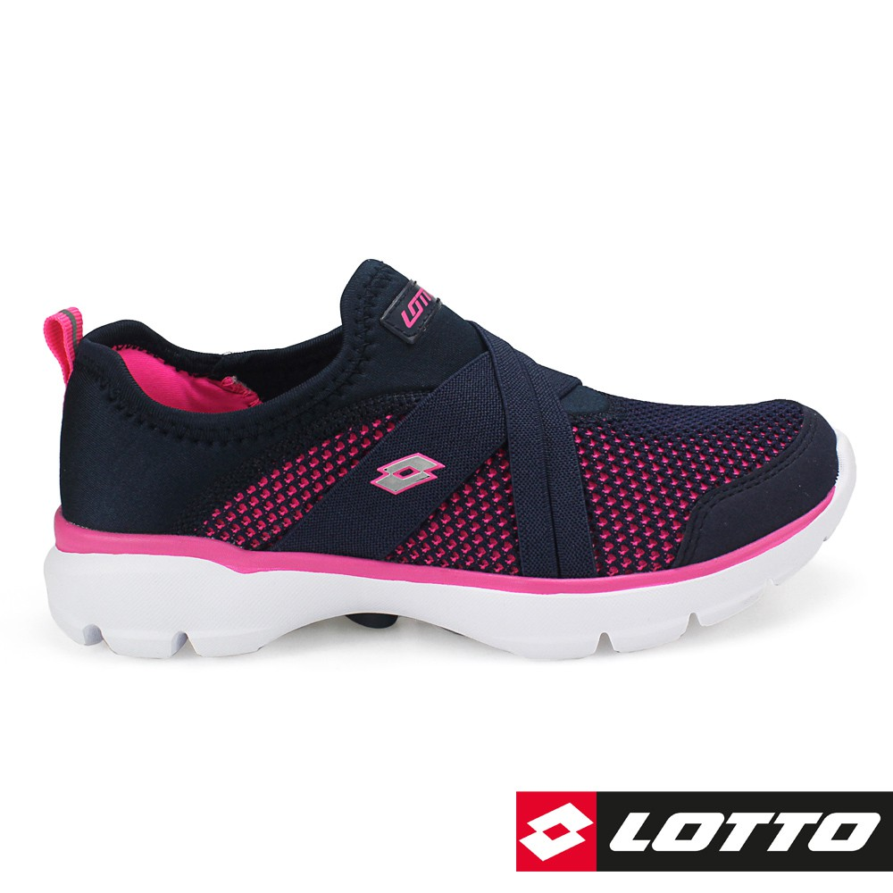 【LOTTO】女 EASYWEAR 樂活輕跑鞋 (深藍-LT7AWX5886)