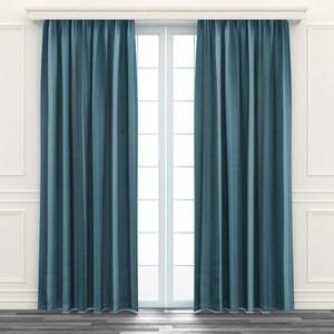 日式漸變遮光窗簾 寬200x高165cm 綠色