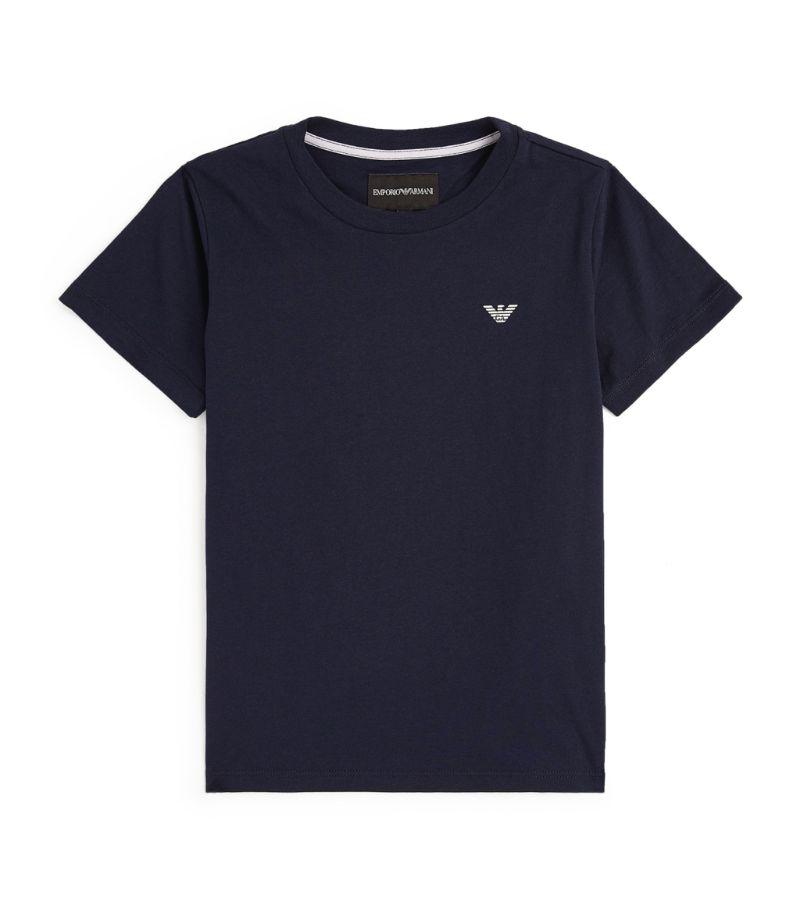 Emporio Armani Kids Eagle Logo T-Shirt (4-16 Years)