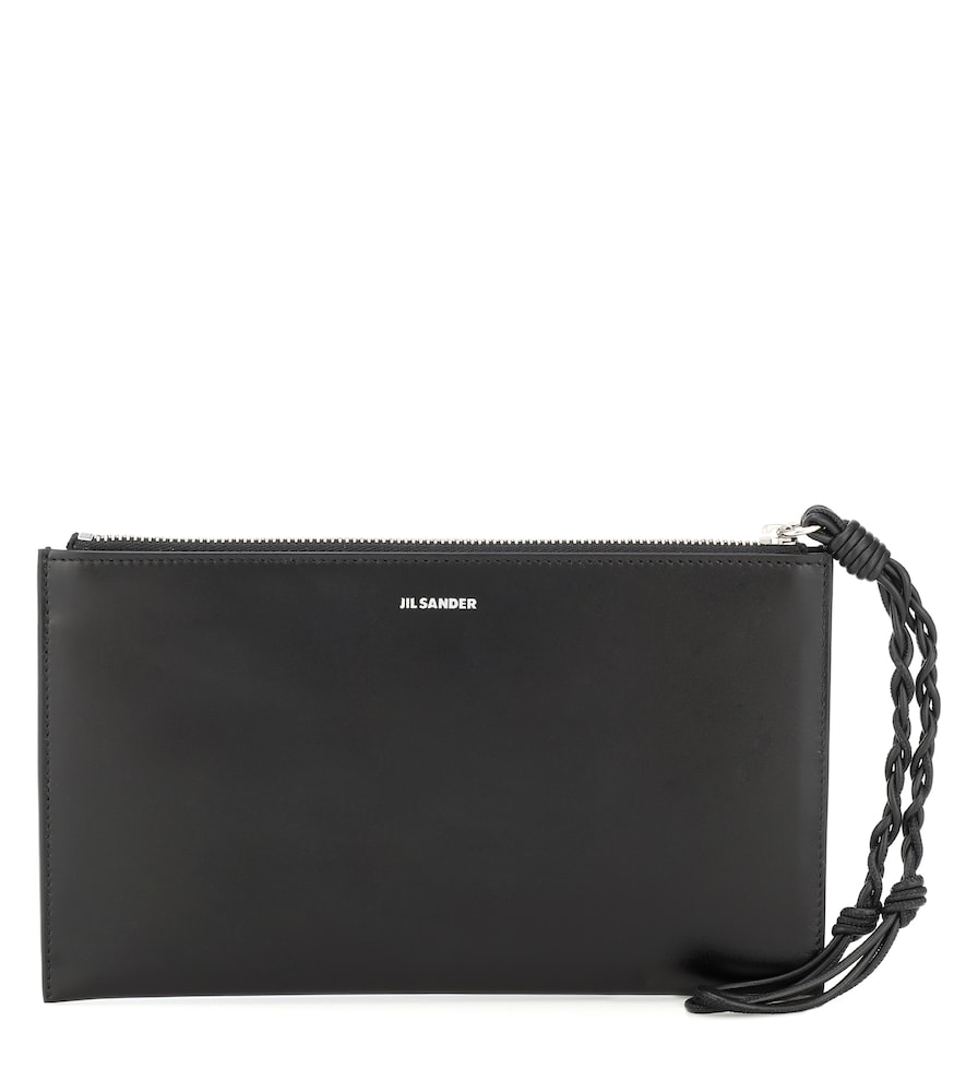 Tangle leather wallet