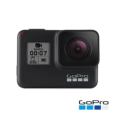 GoPro-HERO7 Black運動攝影機CHDHX-701-RW