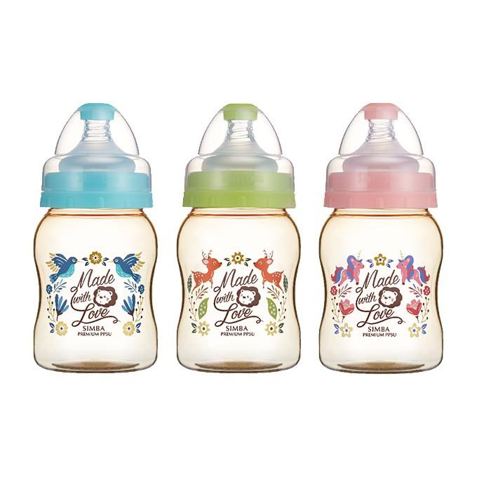 Simba小獅王辛巴 桃樂絲PPSU寬口葫蘆小奶瓶200ml