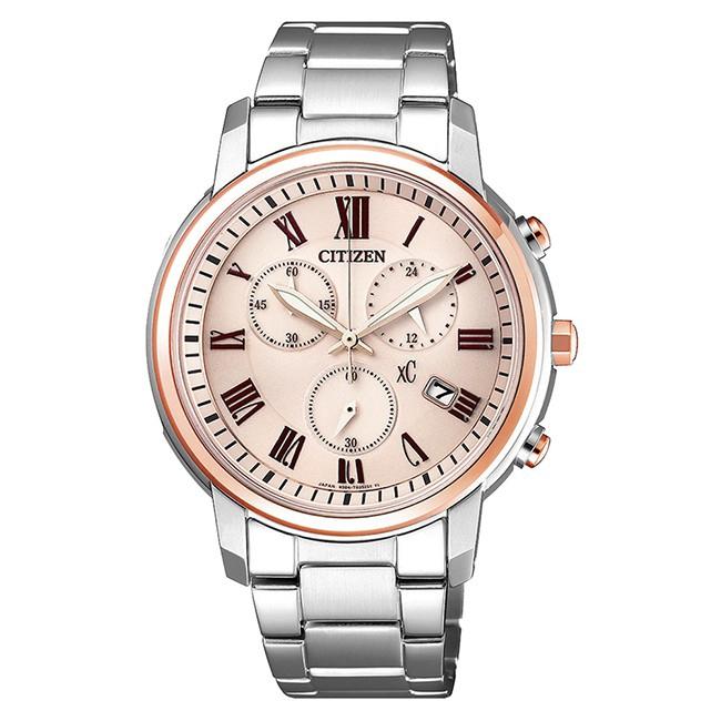 CITIZEN 星辰 XC 亞洲限定優雅甜美時尚腕錶(FB1434-50Y)38mm 廠商直送 現貨