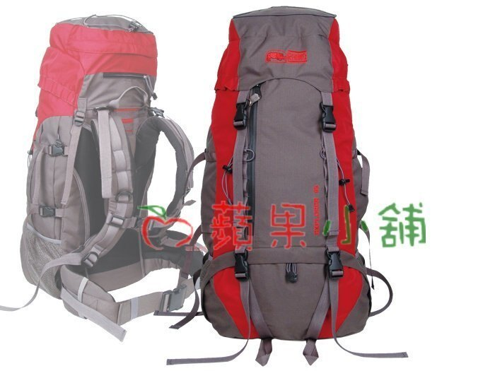 【【蘋果戶外】】RHINO 犀牛 G165【65公升】 65公升易調式背負系統背包 中程 遠程 重裝背包 自助旅行 登山背包 背包客附可拆式防雨套