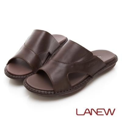 LA NEW 輕量手縫拖鞋(男225070124)
