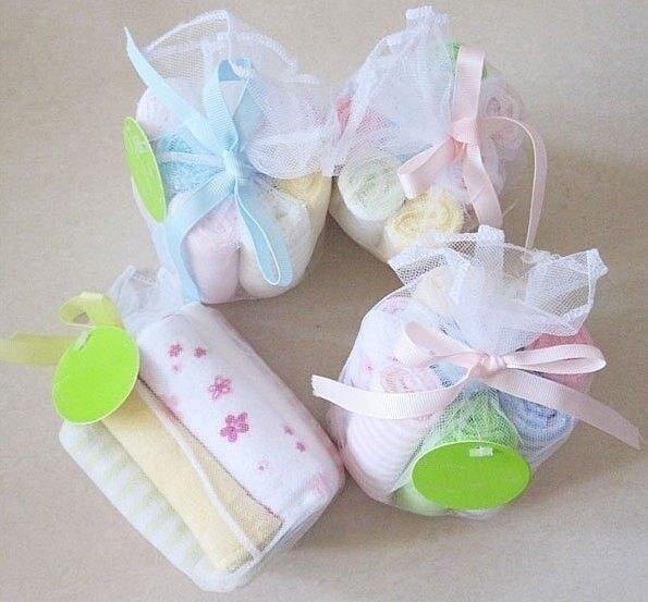 小方巾/口水巾 /手帕 紗網8條一包