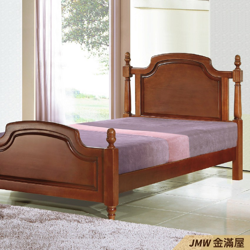 [免運]標準單人3.5尺 床底 單人床架 高腳床組 抽屜收納 臥房床組【金滿屋】E173-2
