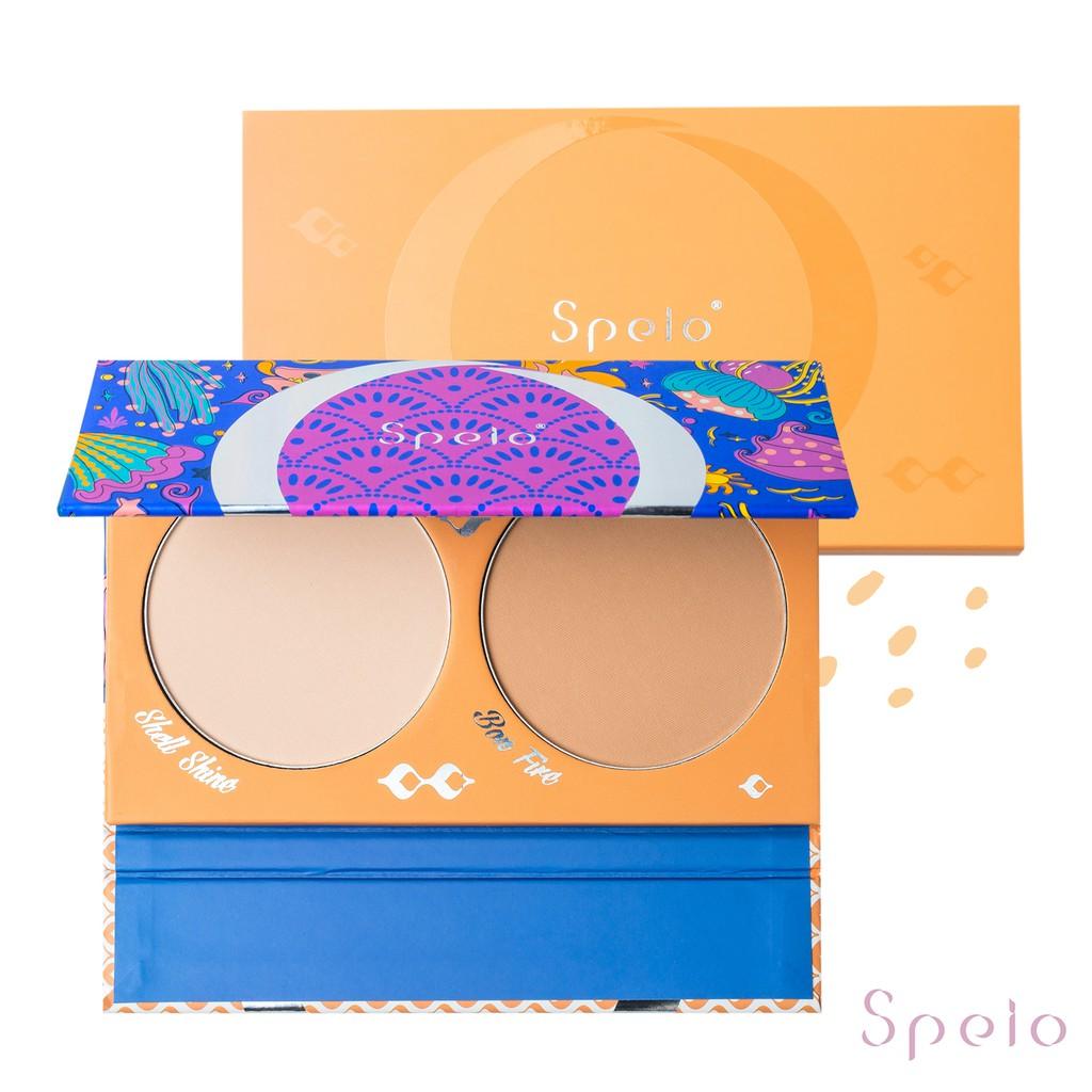 【即期品 出清】Speio 希貝妍 立體霧光雙色粉餅 白皙/健康 持久控油 敏感肌適用