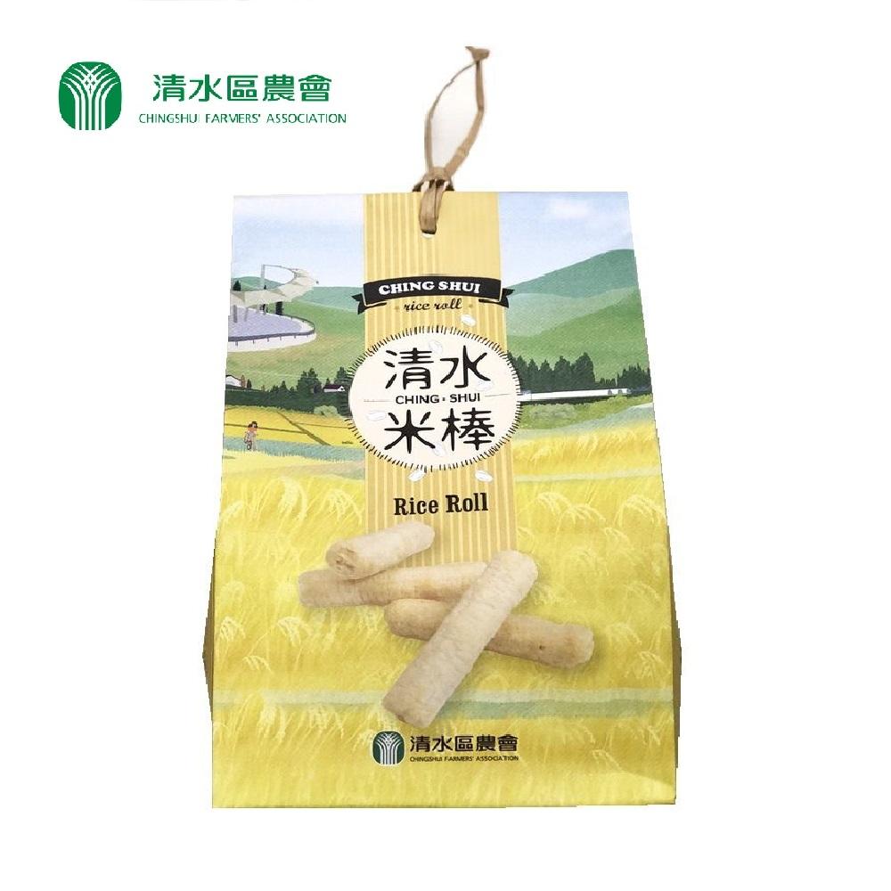 (任選)【清水區農會】清水米棒120公克(10g*12包)/袋