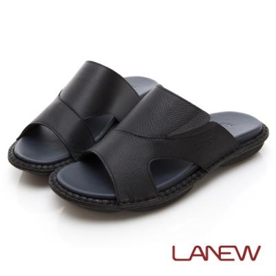 LA NEW 輕量手縫拖鞋(男225070130)