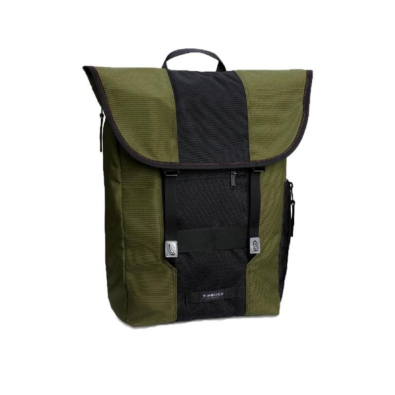 SWIG BACKPACK 16L電腦後背包 - 黑綠配色