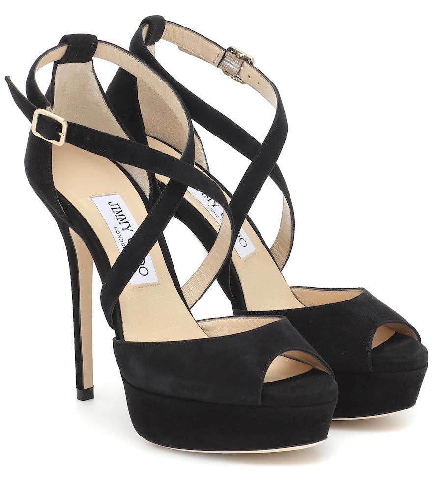 Jenique 125 suede sandals