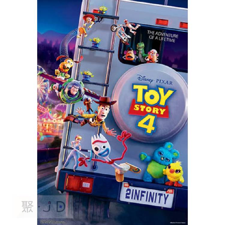 【P2拼圖】迪士尼系列 - 玩具總動員4 (6) 1000片拼圖 HPD01000-072