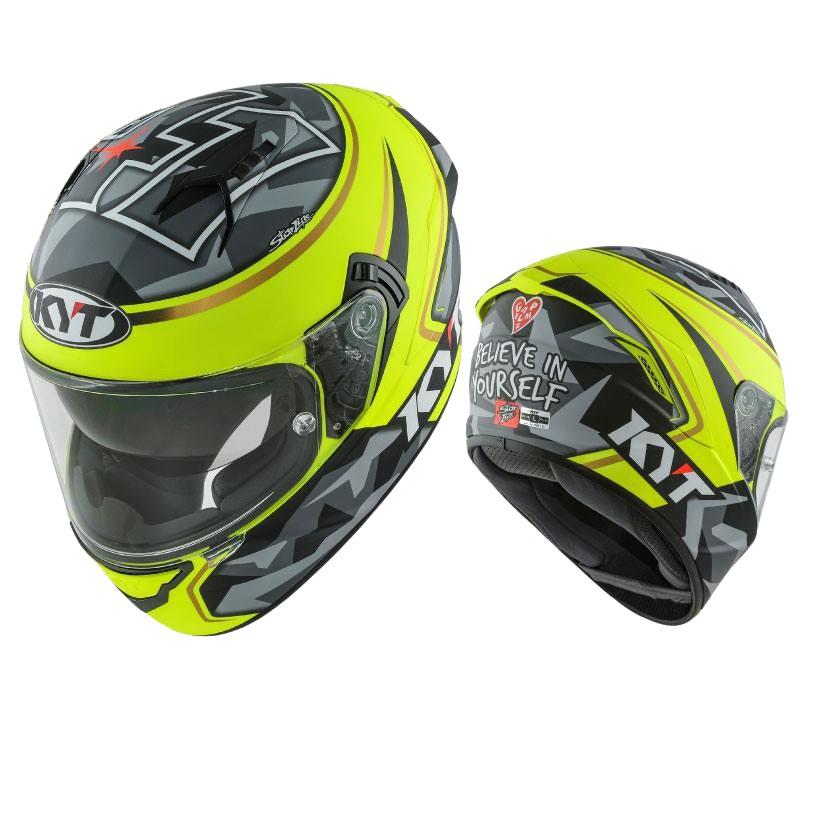 KYT 安全帽 NF-R NFR 選手彩繪 41 消光黃 全罩式 內藏墨鏡 雙D扣 《比帽王》