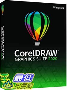 [9美國直購] pc 教育版 CorelDRAW Graphics Suite 2020 Graphic Design Photo and Vector Illustration Software E