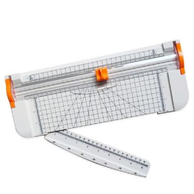 【FJ】安全不刮手A4滑動式裁紙器(加碼贈2組裁刀頭)