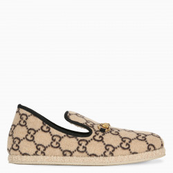 Gucci GG wool loafer