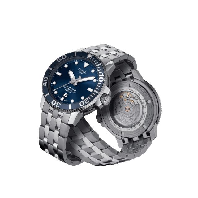 TISSOT 天梭 SEASTAR 1000 機械錶T120.407.11.041.01
