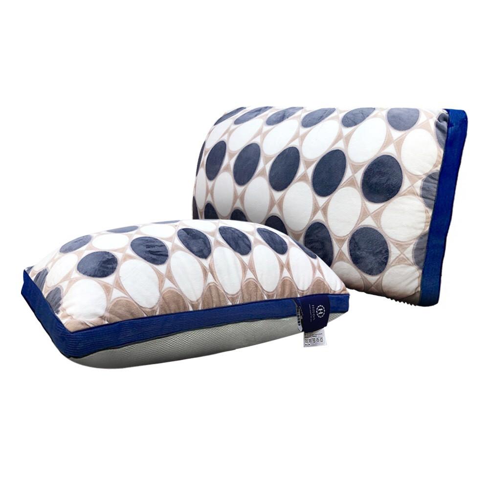 【Hilton 希爾頓】皇室宮廷銀離子手工雕花天絲獨立筒枕/巴洛克(B0076-ANX)