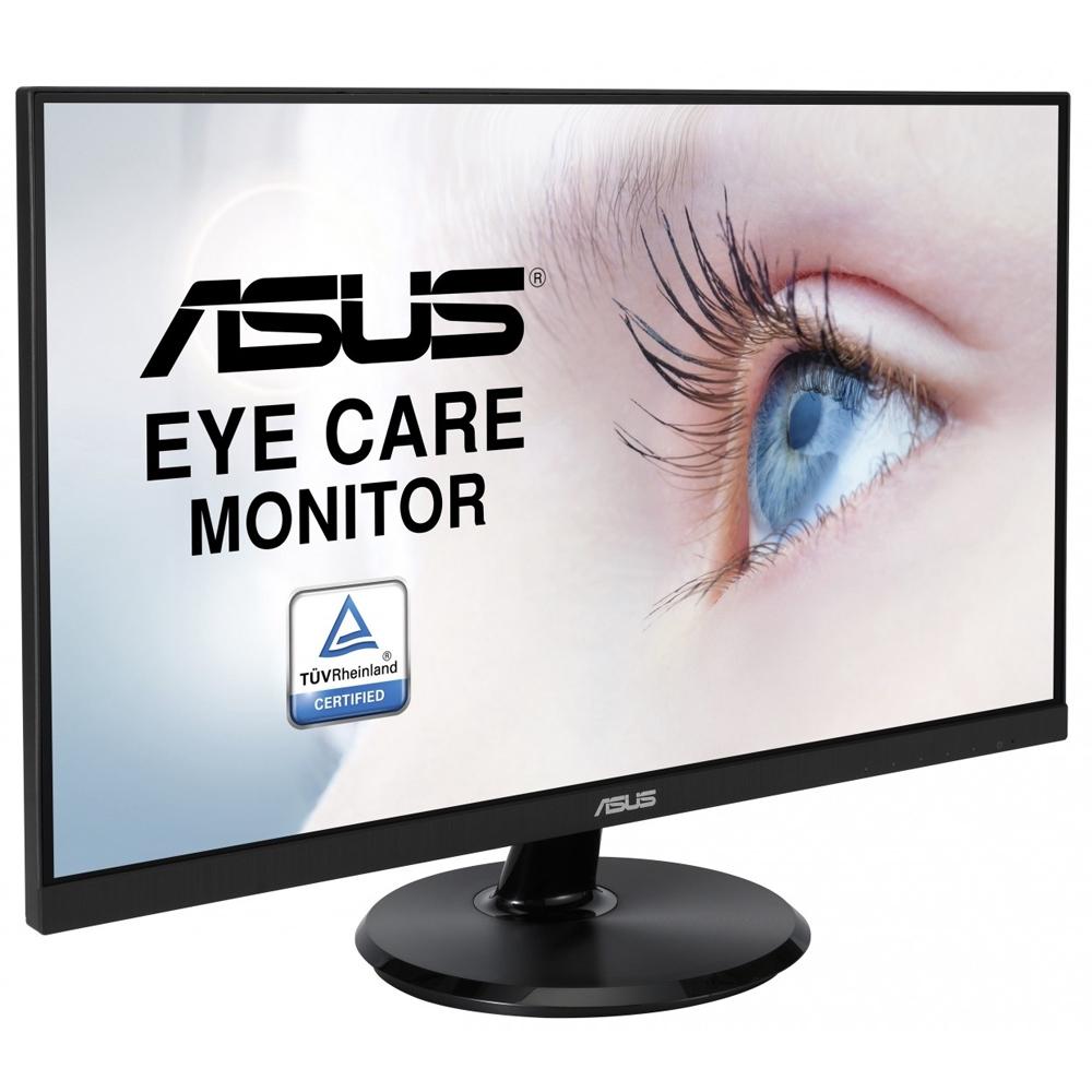 ASUS 護眼系列 VA24DQ 24型 IPS 螢幕 廣視角 低藍光 不閃屏 含HDMI線 【每家比】