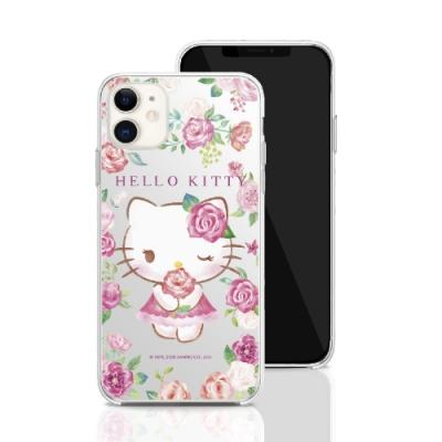 三麗鷗系列 iPhone 11 6.1吋 手機殼套裝組 凱蒂貓 ROSE KITTY