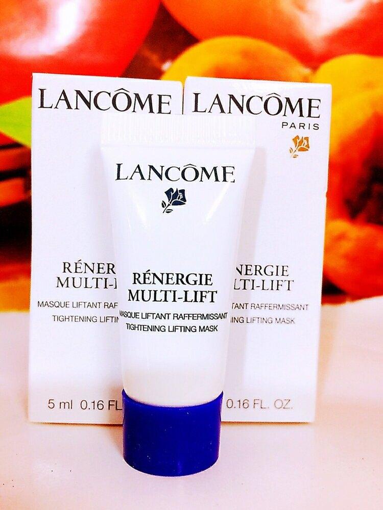 LANCOME 蘭蔻 超緊顏5D太空乳霜面膜5ML全新百貨公司專櫃貨盒裝