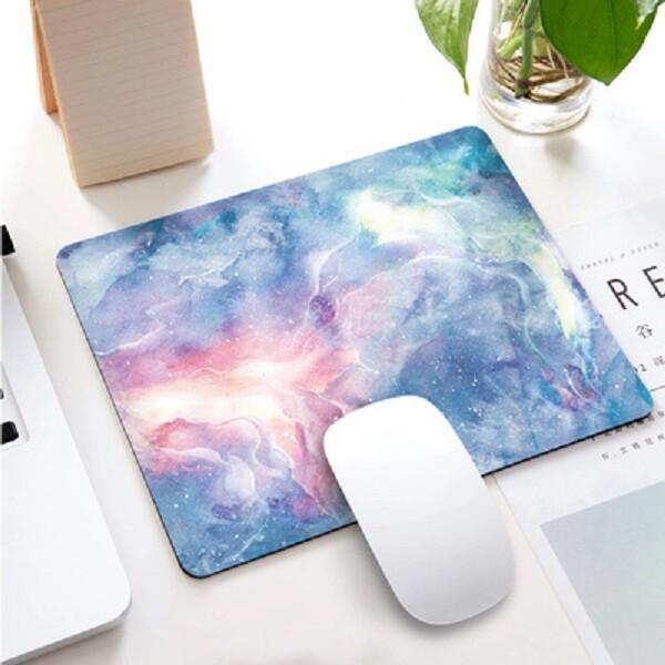 多彩花紋桌墊 星空滑鼠墊 桌墊 防滑墊 電腦桌墊 書桌墊 工作墊 辦公桌墊