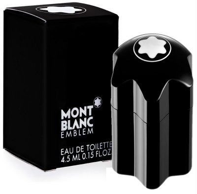 Mont blanc Emblem 萬寶龍 男性淡香水 4.5ML 小香【小7美妝】