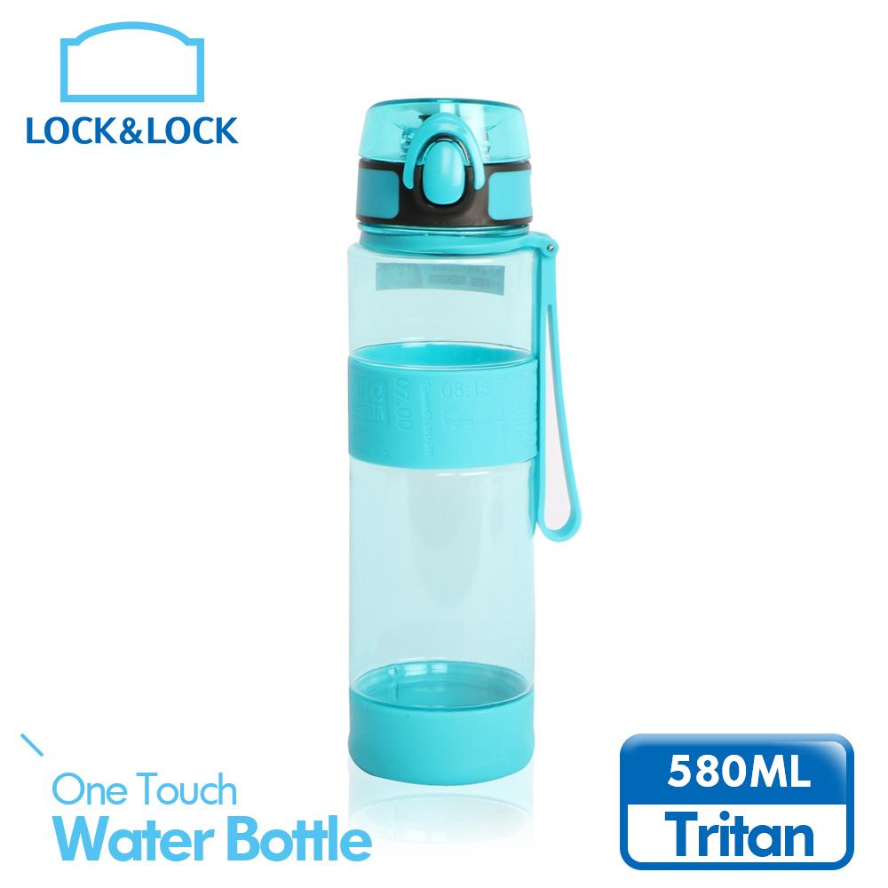 【樂扣樂扣】優質矽膠提帶水壺580ml/薄荷