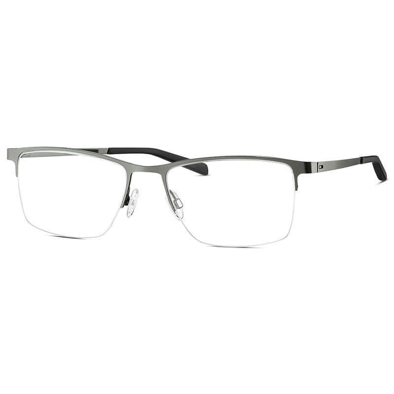 FREIGEIST 自由主義者 德國寬版大尺寸金屬半框菁英質感眼鏡 862016- gun semi 淺灰 (30)