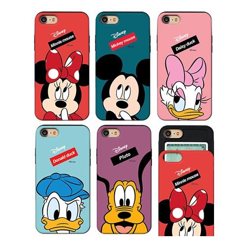 韓國 迪士尼 手機殼 推蓋卡夾│S21 S20 Ultra + S10 S10E S9 S8