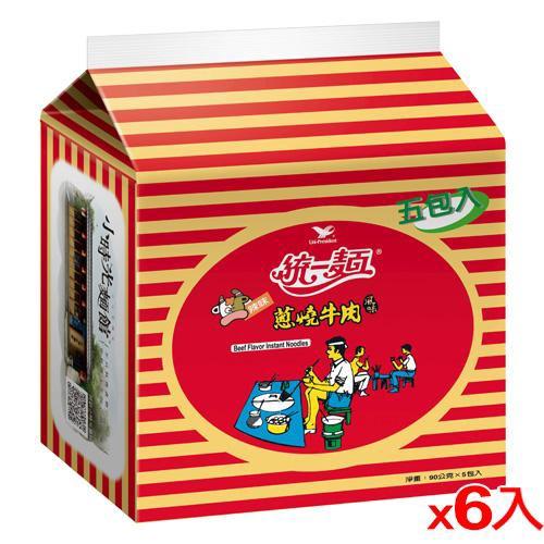統一蔥燒牛肉麵*30包【愛買】