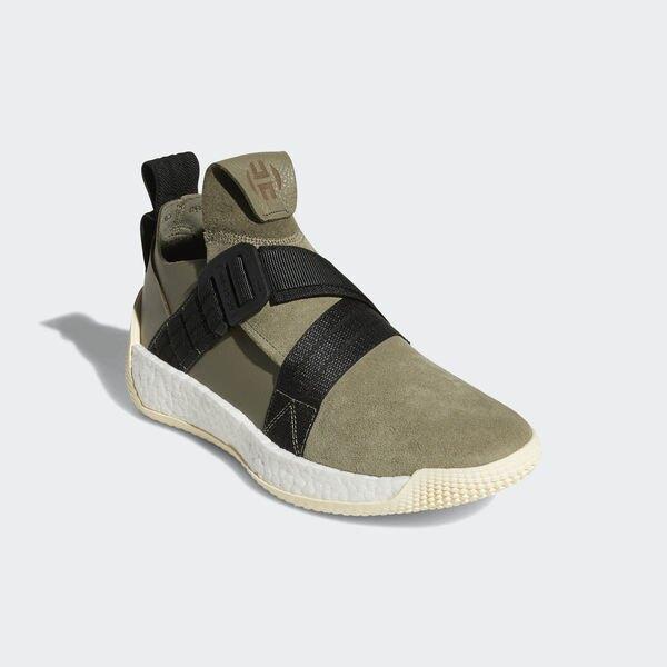 Adidas Harden LS 2 Buckle [AQ0020] 男鞋 運動 籃球 襪套 輕量 避震 愛迪達 綠黑
