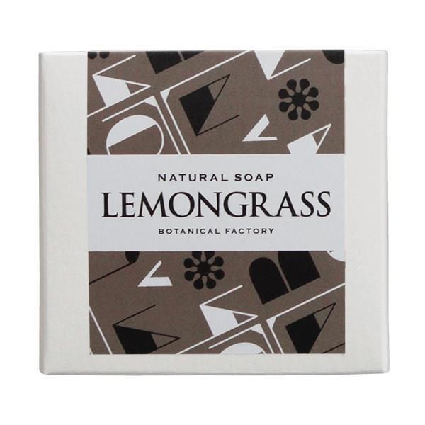 植物卡農 清爽檸檬草手工皂