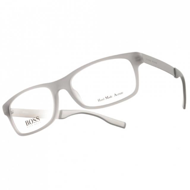 HUGO BOSS 光學眼鏡  百搭方框款(灰) #HB0550 E70