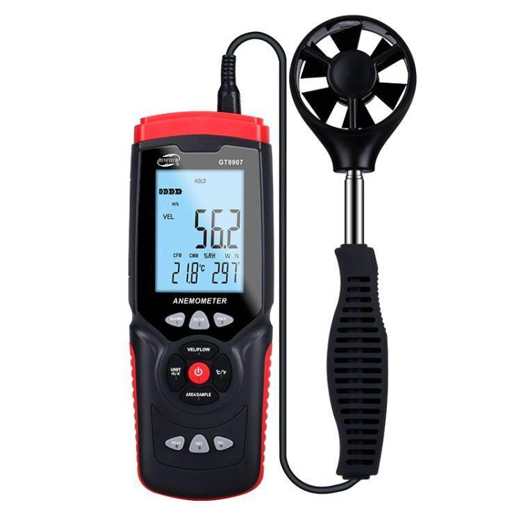 測風儀 標智風速儀高精度測風儀數字式風速計風量測試儀風速測量儀手持式 JD免運
