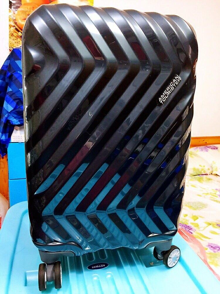 AT美國旅行者 ZAVIS 20吋 行李箱 亮面鐵灰 TAS海關鎖 360靜音耐磨飛機輪 登機箱 2.4KG