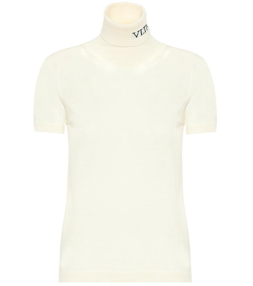 Valentino VLTN virgin wool turtleneck sweater