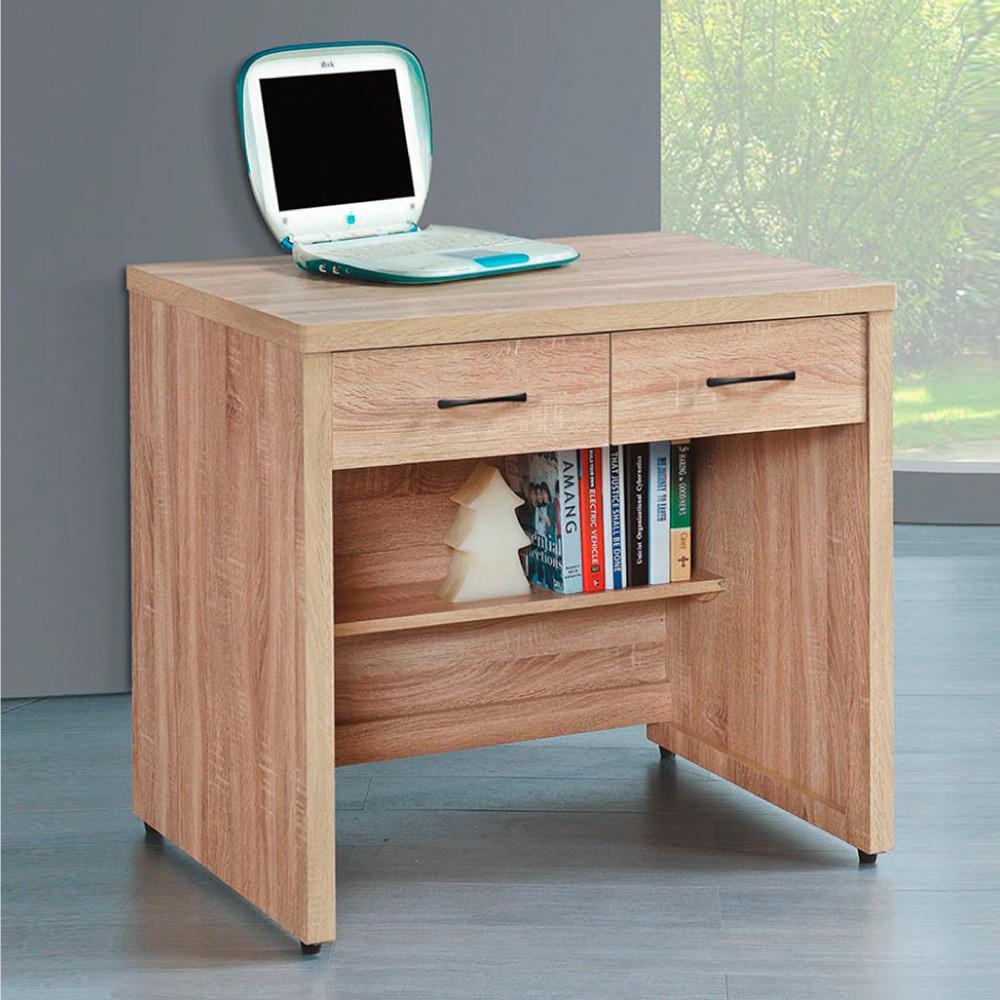 AS-橡木2.7尺書桌-82×60.5×81cm