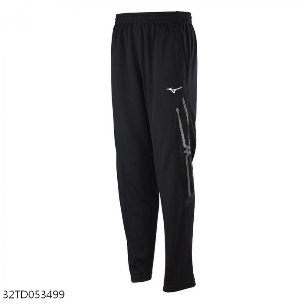 MIZUNO 男裝 長褲 套裝 吸汗快乾 抗紫外線 口袋 黑【運動世界】32TD053499