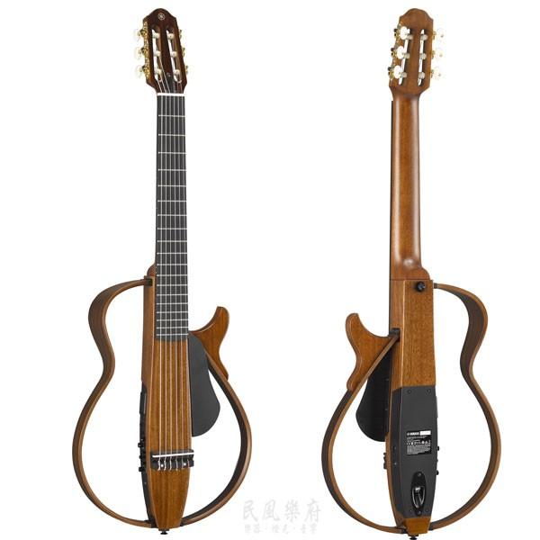 YAMAHA 山葉 SLG-200NW 靜音尼龍弦古典吉他 可插電外接 加贈實用配件【民風樂府】