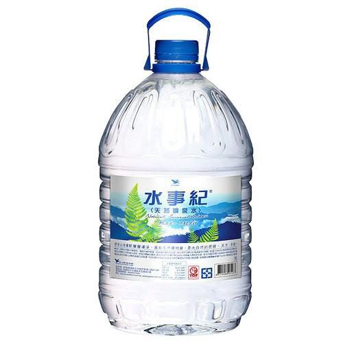統一 水事紀 天然礦泉水 5000ml 【康鄰超市】