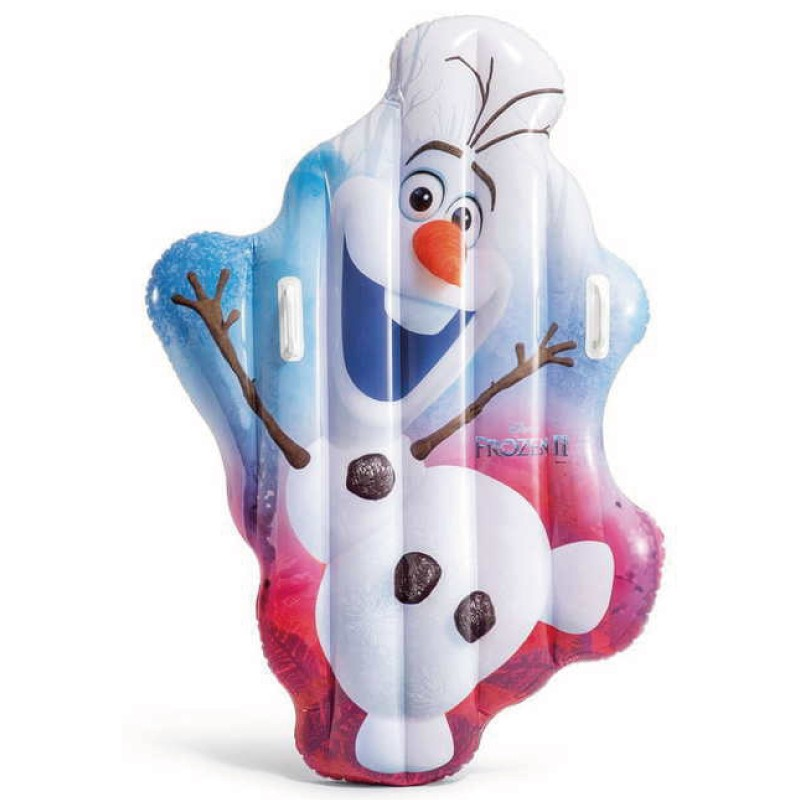 INTEX 冰雪奇緣雪寶充氣墊 玩具反斗城