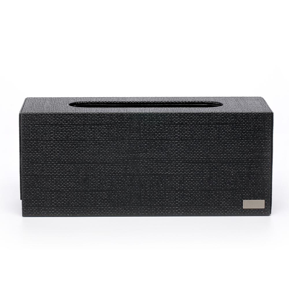 【Finara 費納拉】亞曼尼黑-桌上型擦手紙巾專用盒