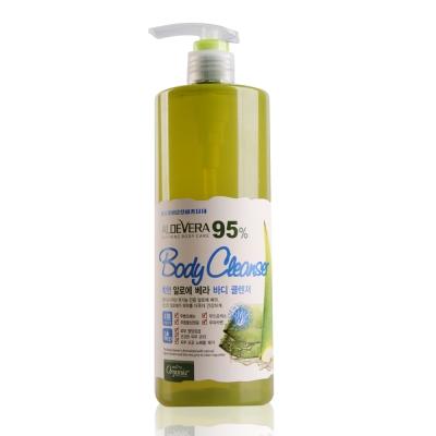 Organia歐格妮亞 蘆薈95%舒緩保濕沐浴露1500g