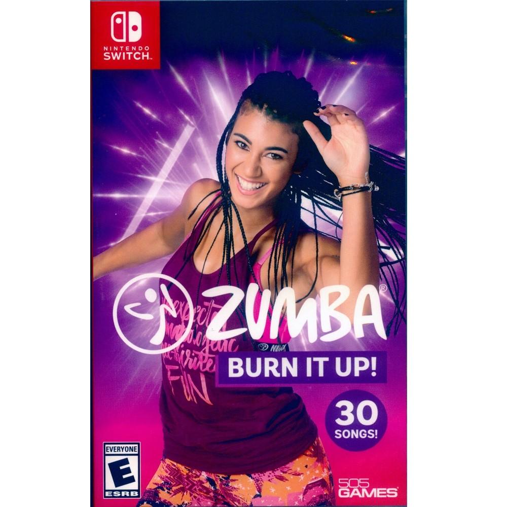 任天堂 Switch遊戲《拉丁有氧舞蹈健身 Zumba:Burn It Up 》美版 (支援中文)