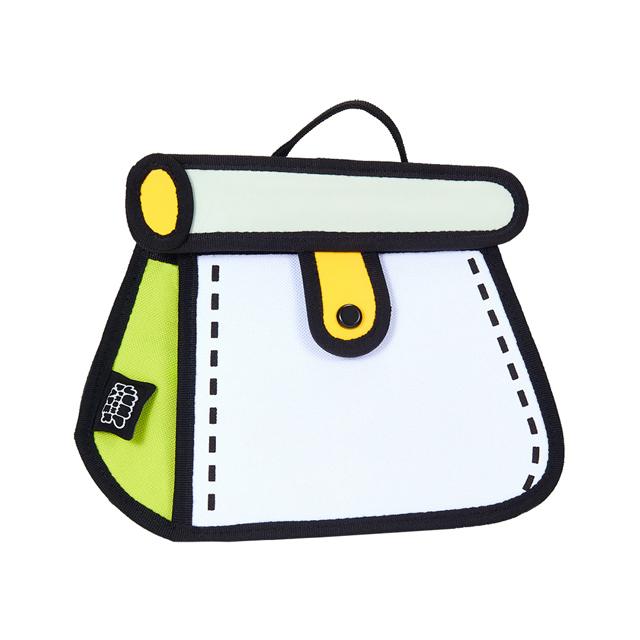 JumpFromPaper 2D卡通包 薄荷綠蛋糕包 肩背包 鏈包 手提包