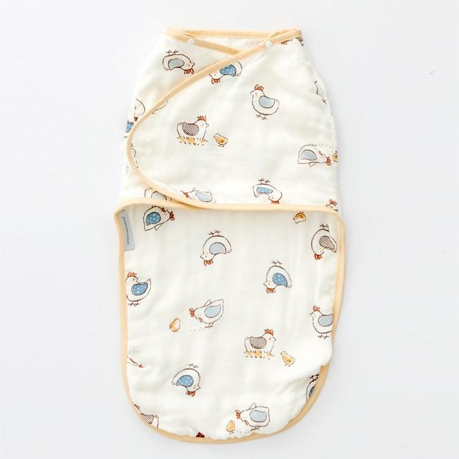 奇哥快樂小雞竹纖維紗布子宮包巾 TLD72800 735元+贈奇哥紙袋(小)