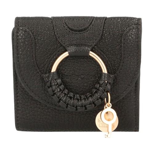 Hana square compact wallet